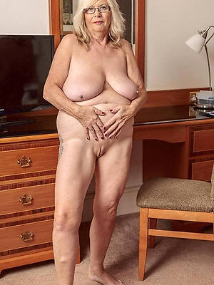 Naked old women