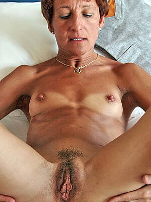 Real naked mature