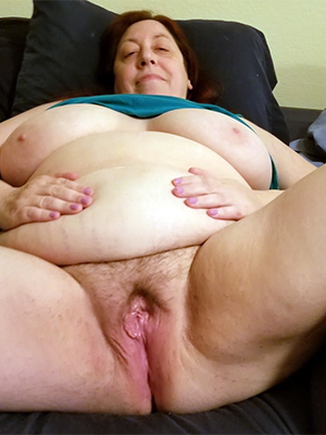 Naked old fat women