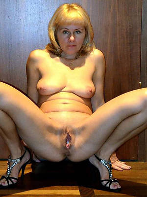 Really mature nude women