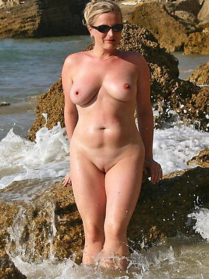 Really mature nude women