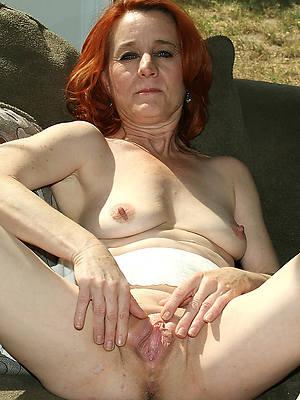 Pretty nude mature women